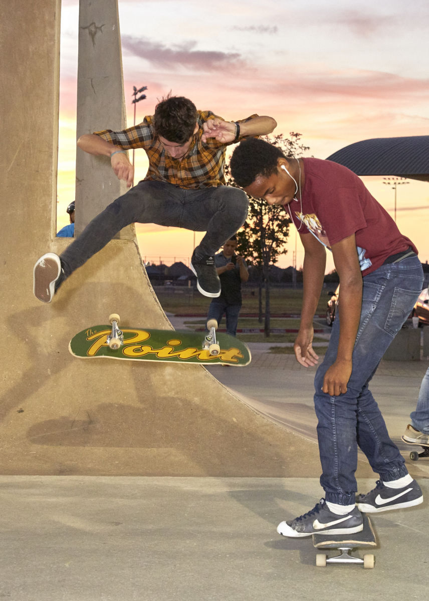 Heelflip on Point